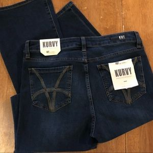 KUT From The Kloth NWT Women Jeans Natalie Curvy 8